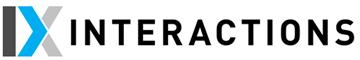 Interactions logo.