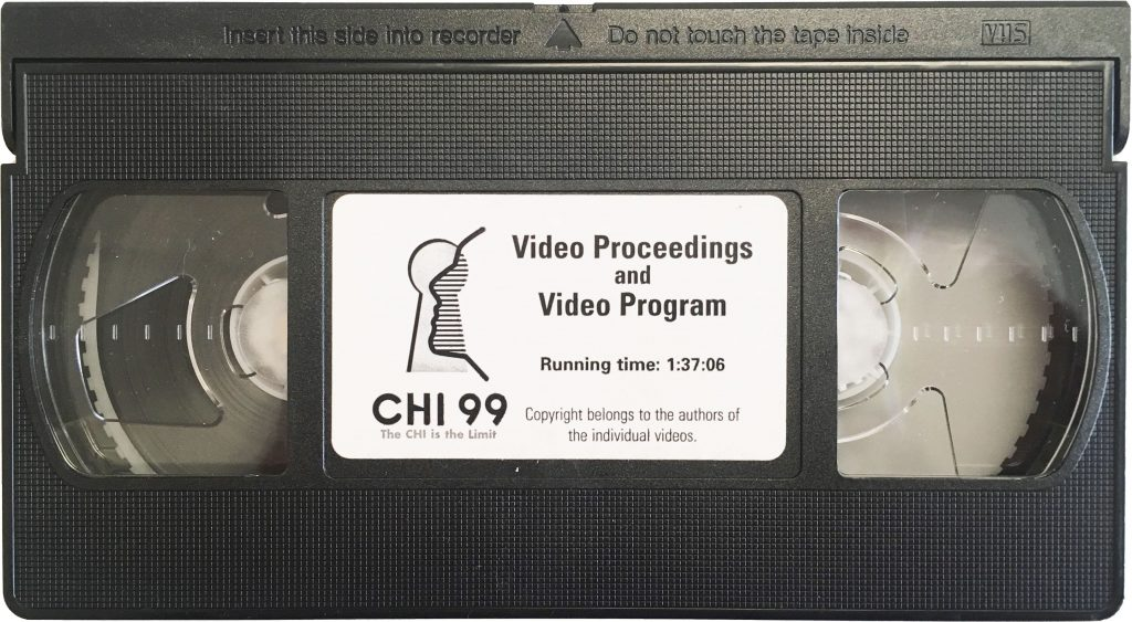 Photo of VHS tape