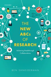 Cover for The New ABCs of Research by Ben Shneiderman